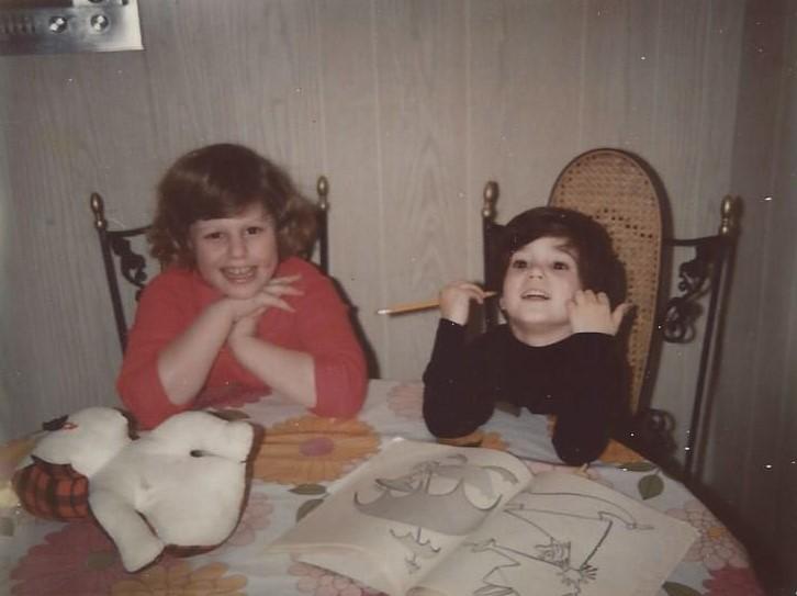 Mindy and I 1971