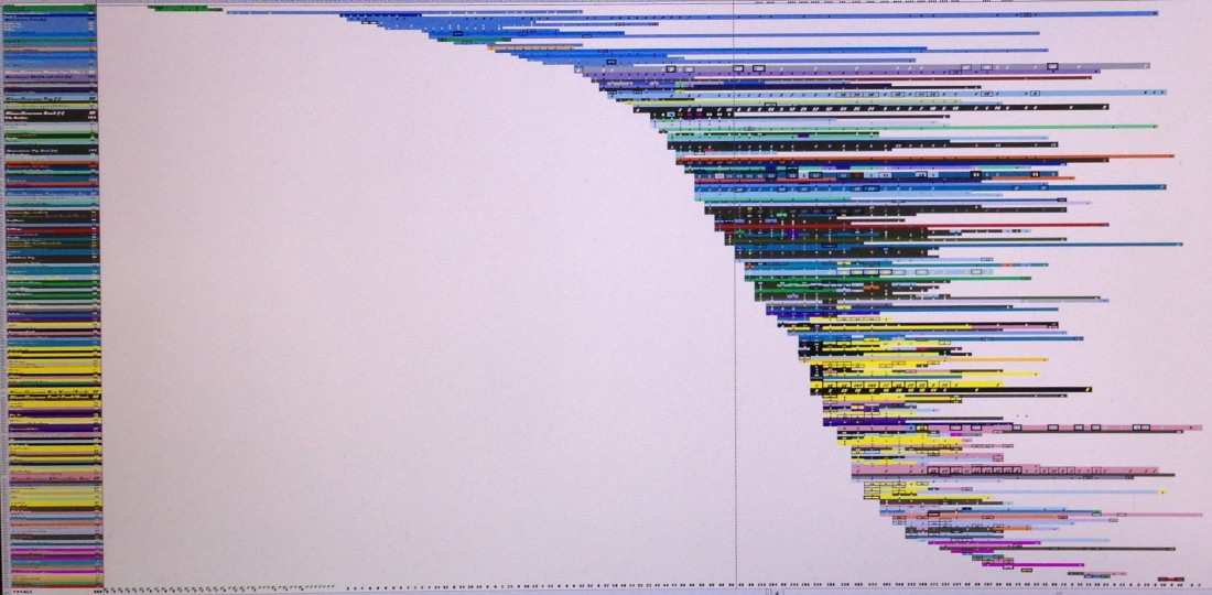 Cropped data art screen shot