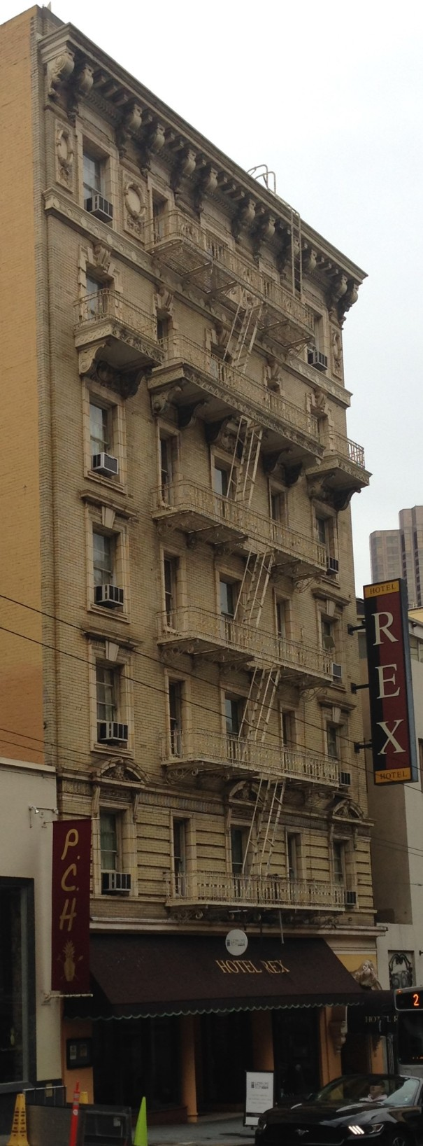 Rex fire escape
