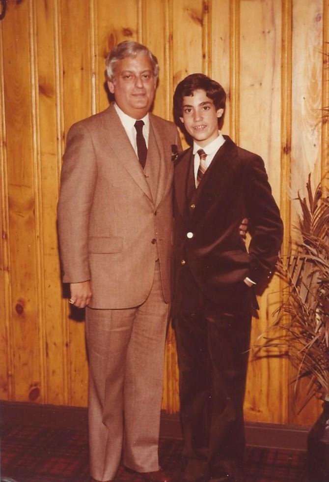 Lou and Matthew Berger Bar Mitzvah Sept 1979