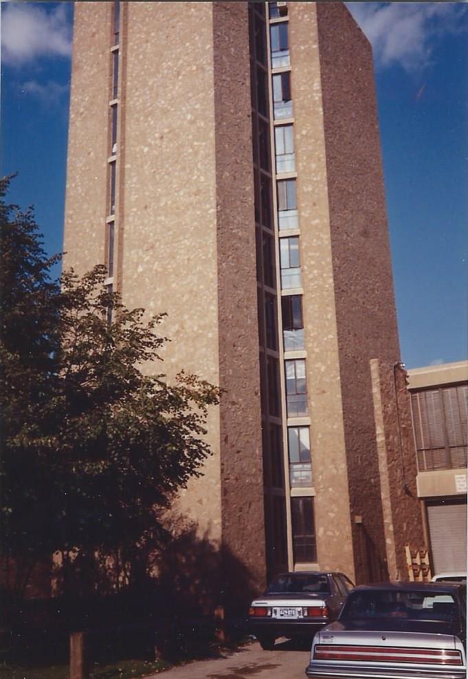 Ezra Stiles tower October 1988