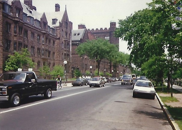 Old Campus May 1988 College Street