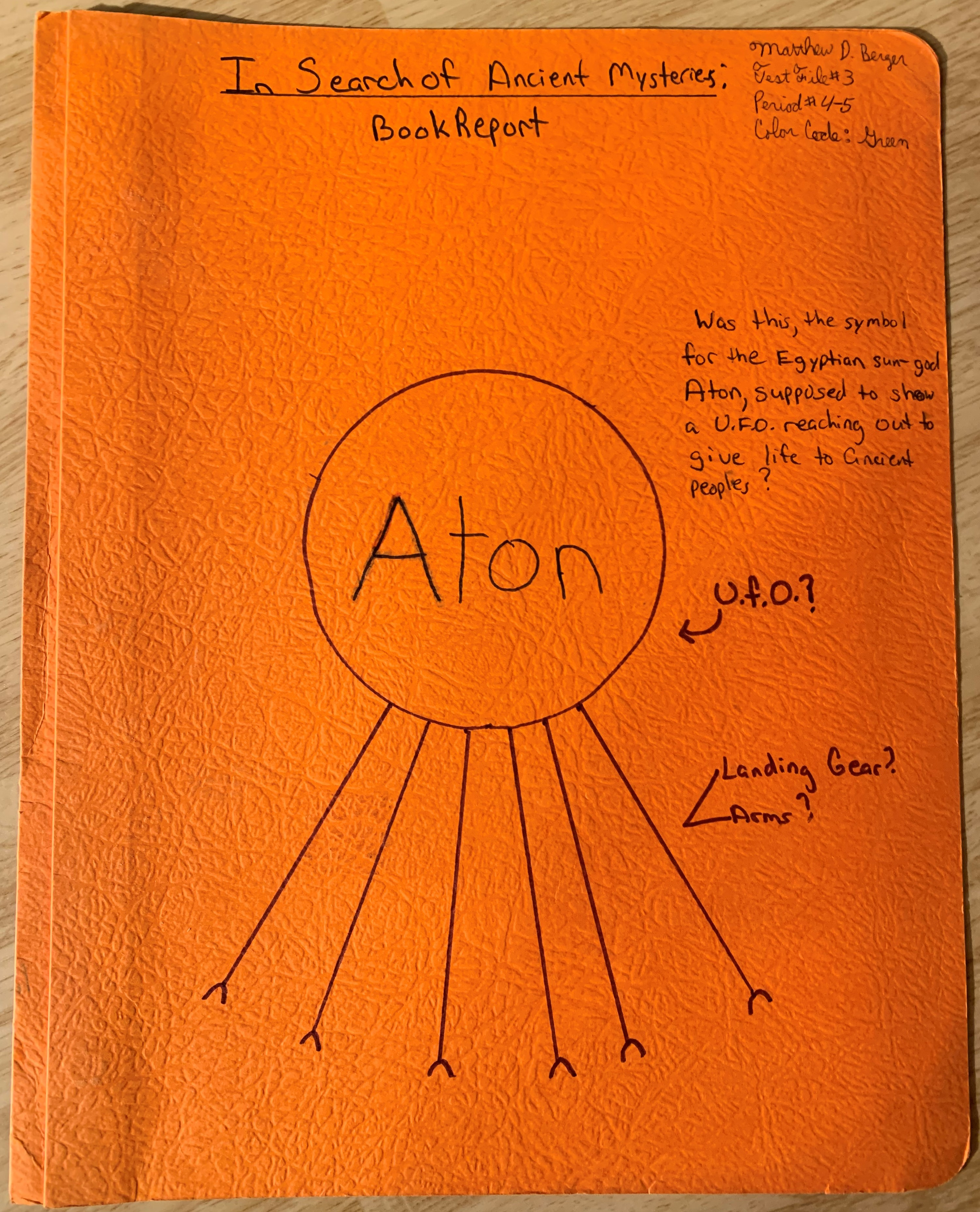 Ancient Mysteries book report.JPG