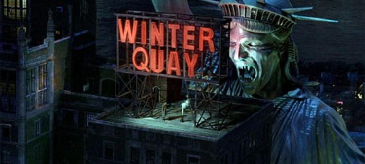 Winter Quay Statue of Liberty