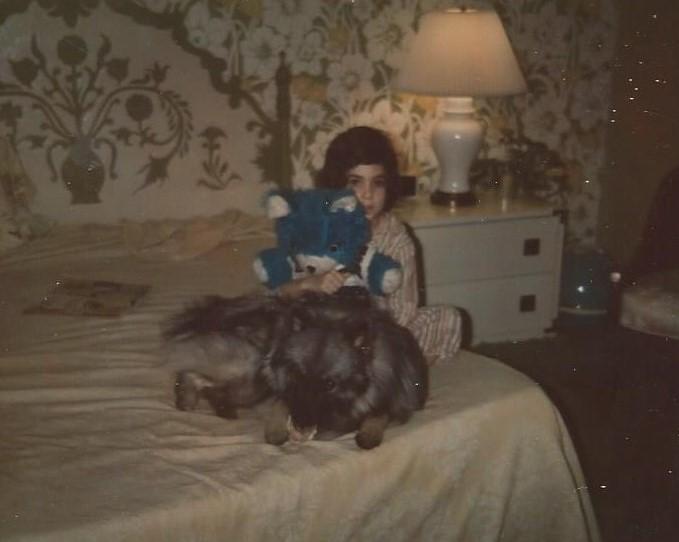 Luvey on Sue Ellen Drive 1974