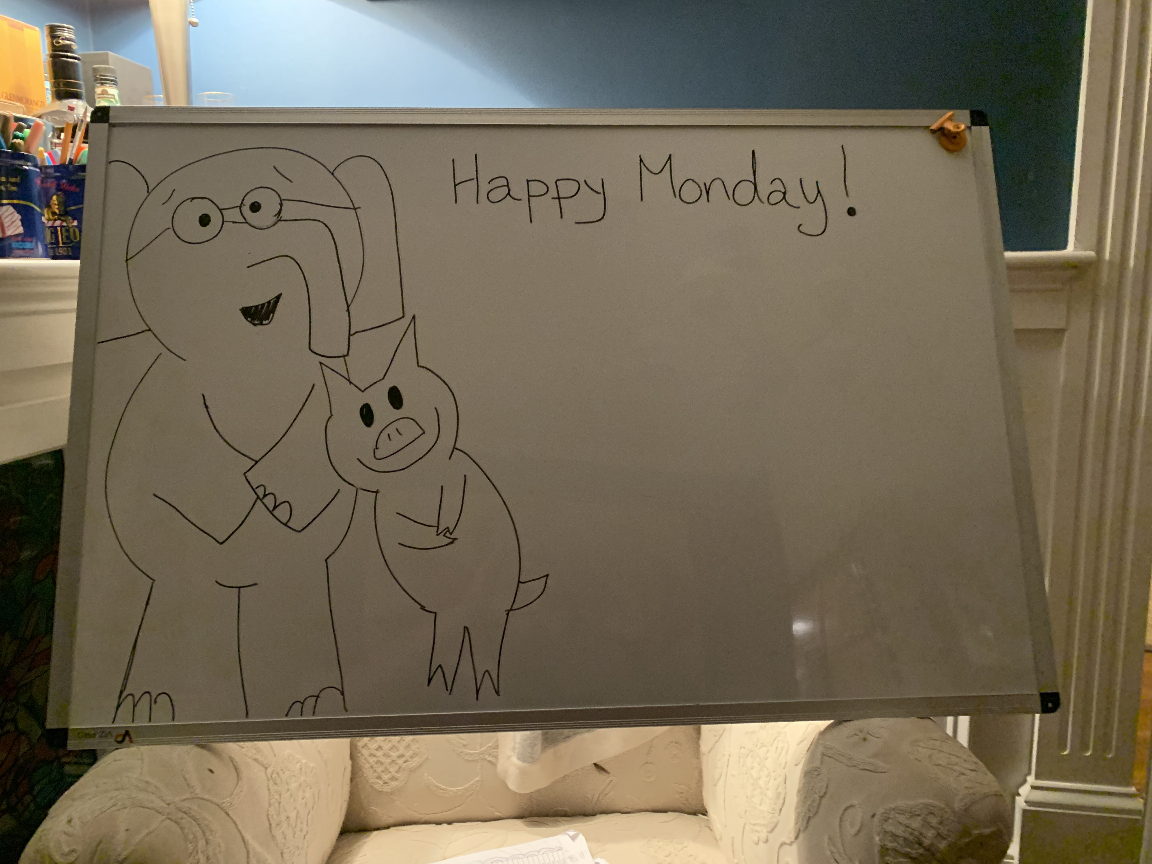 Happy Monday Gerald and Piggy