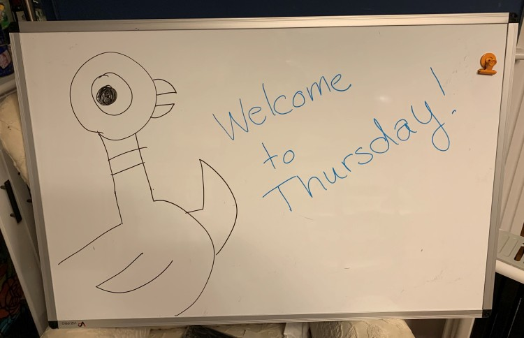Welcome to Thursday