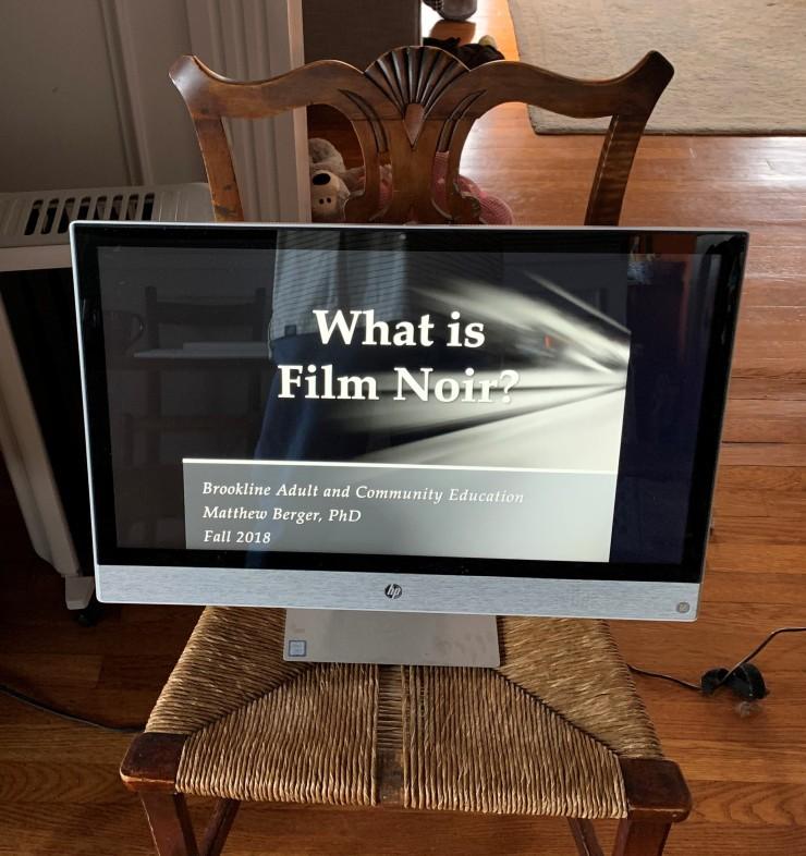 What is Film Noir