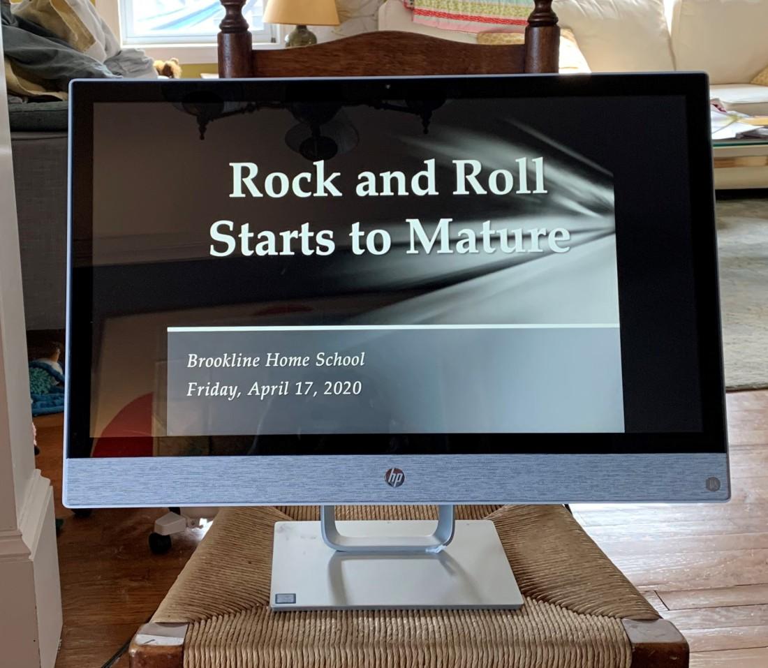 Rock matures